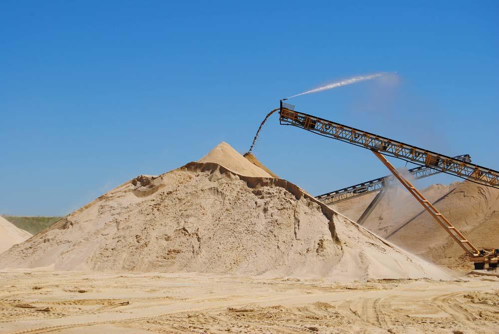 دانلود طرح توجیهی استخراج معدن شن و ماسه و احداث کارخانه سنگ ...